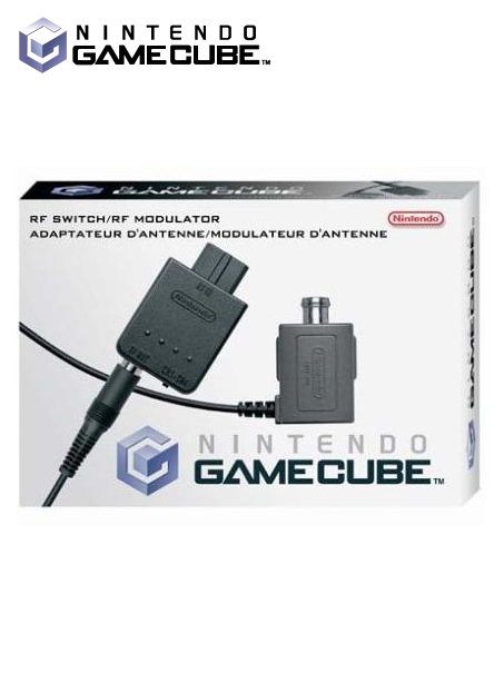 Boxshot GameCube RF Switch/RF Modulator