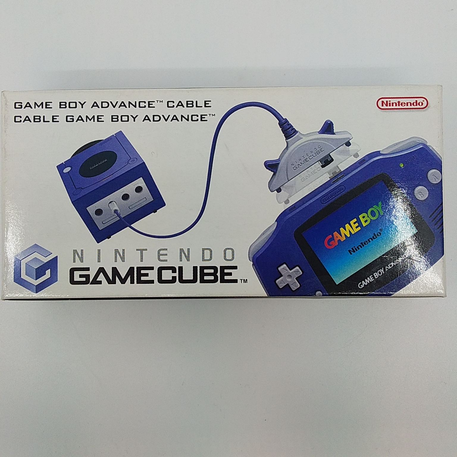 Foto van GameCube Game Boy Advance Link Cable in Doos