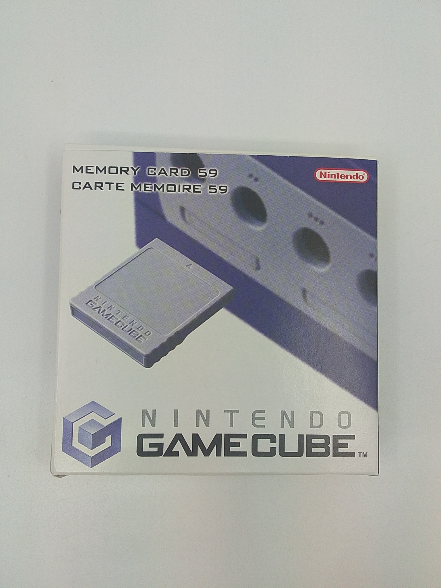 Foto van GameCube Memory Card 59 in Doosje