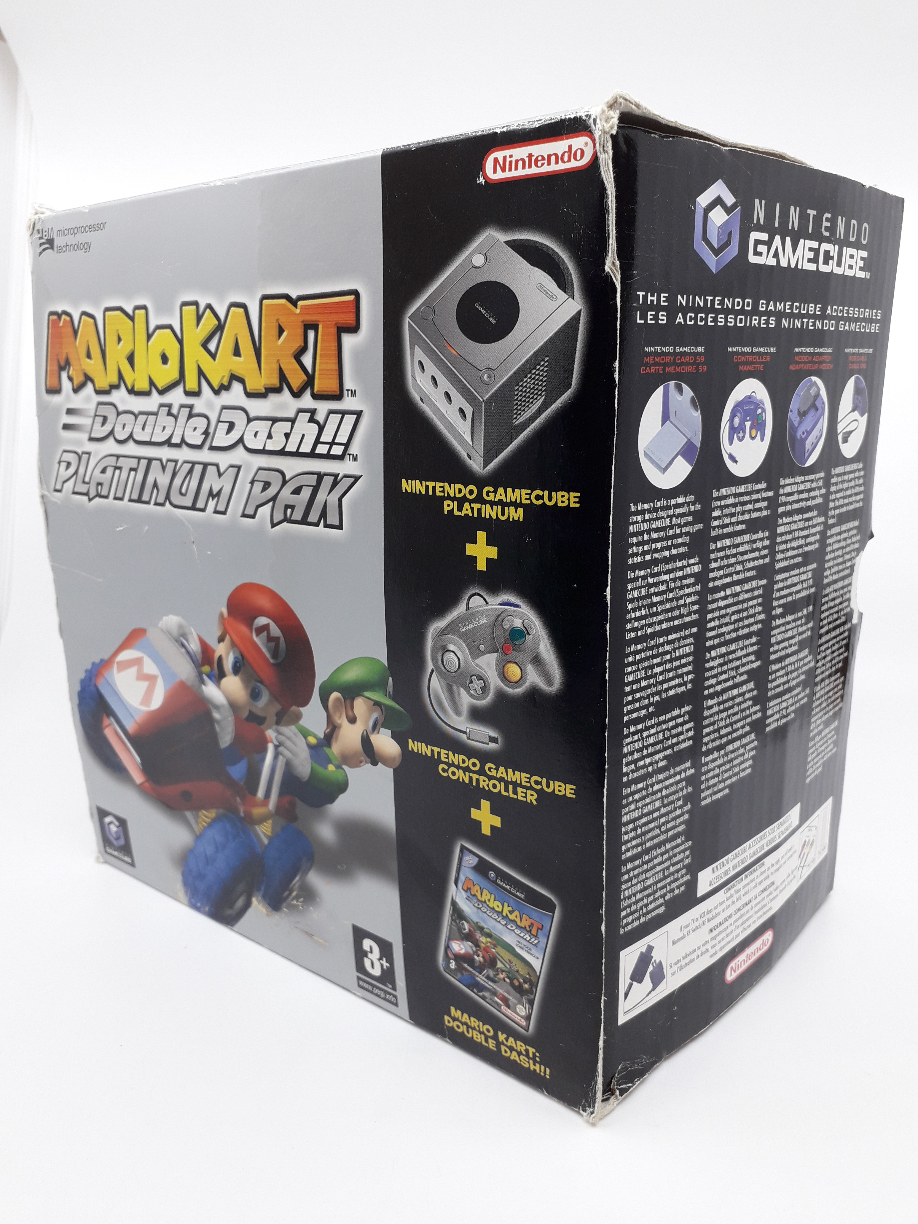 Foto van Mario Kart: Double Dash!! Limited Edition Pak in Doos