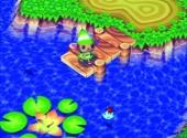 Vissen in de rivier is een perfecte manier om te ontspannen.