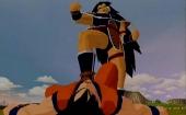 De slechte broer van Goku, Raditz, is ook speelbaar.