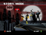 Speel als Robin, Batgirl, <a href = http://www.mariocube.nl/Zoeken_GameCube.php?search=Batman target = _blank>Batman</a> of Nightwing.
