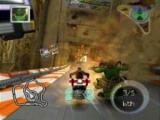In dit spel race je in futuristische wagens op futuristische tracks!
