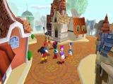 <a href = http://www.mario64.nl/Nintendo64_Mickeys_Speedway_USA.htm target = _blank>Mickey</a>, Donald, Goofy en de anderen lopen gezellig een rondje door de stad voordat hun feestje begint.