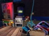 De game is een 3D-platformer waar je ook af en toe moet vechten. Het zorgt voor afwisseling!