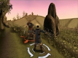 Het vechtsysteem is turn-based maar er zijn 'Swing meters' die de gameplay actief houden!