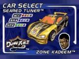 kies je favoriete rijder en raceauto.