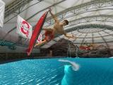 Speel in vele verschillende wateren, waaronder zelfs een binnenzwembad!