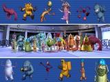 Speel met verschillende gekke monsters.