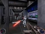 Naast je lightsaber kan je ook geweren gebruiken.