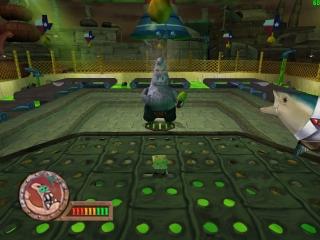 Stop Plankton zijn duivelse plannen in Spongebob: <a href = https://www.mariocube.nl/GameCube_Spelinfo.php?Nintendo=SpongeBob_SquarePants_Battle_for_Bikini_Bottom target = _blank>Battle for Bikini Bottom</a>!