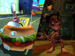 Je ontvangt zowel een Tak game als een Spongebob game! Wat een deal!