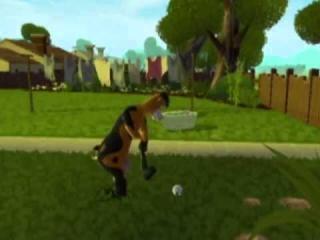 Dit spel bevat leuke minigames zoals golf.