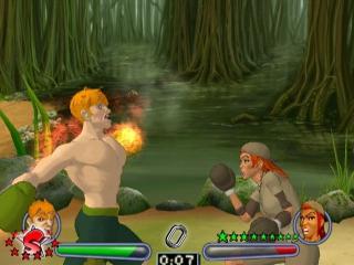 Verdien tijdens de gevechten power ups zoals meer schade, zo versla je zeker de vijand!