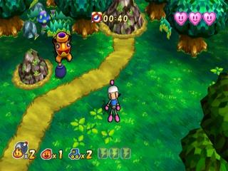 Dit spel speelt als een platformer met puzzels.