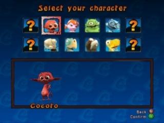 Kies uit 12 Personages, ieder met een unieke en gekke kart.