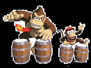 Te gebruiken bij de games: <a href = https://www.mariocube.nl/GameCube_Spelinfo.php?Nintendo=Donkey_Konga target = _blank>Donkey Konga</a>, <a href = https://www.mariocube.nl/GameCube_Spelinfo.php?Nintendo=Donkey_Konga_2 target = _blank>Donkey Konga 2</a> en <a href = https://www.mariocube.nl/GameCube_Spelinfo.php?Nintendo=Donkey_Kong_Jungle_Beat target = _blank>Donkey Kong Jungle Beat</a>.