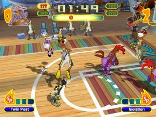 Het spel is een heel speelse basketbal-game. Neem het niet te serieus!