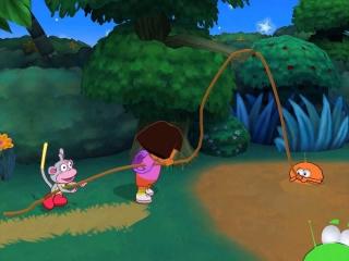 Dora helpt al haar nieuwe vriendjes in nood.