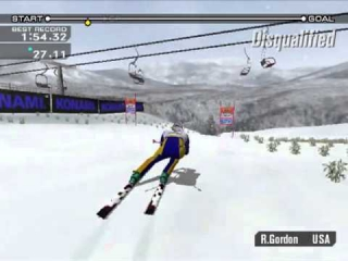 ESPN International Winter Sports: Screenshot