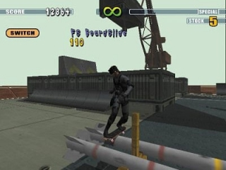 Je kan zelf een personage maken of een van de pro's kiezen! Je kan zelfs als <a href = https://www.mariocube.nl/GameCube_Spelinfo.php?Nintendo=Metal_Gear_Solid_the_Twin_Snakes>Solid Snake</a> skaten!