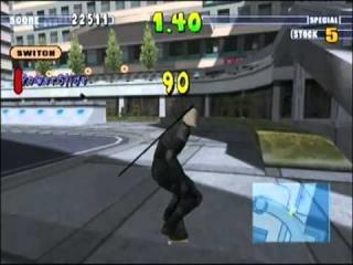 Ook ninja's houden van skaten.
