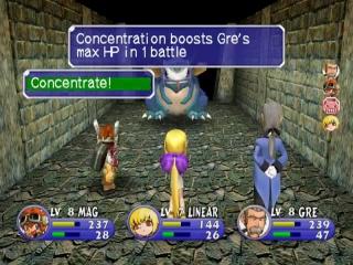 Dit spel bevat coole 'turn based' gevechten.