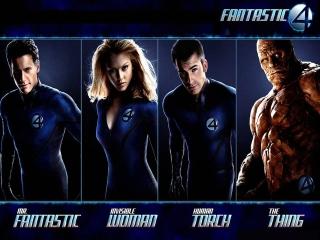 Speel als deze fantastische 4 superhelden.