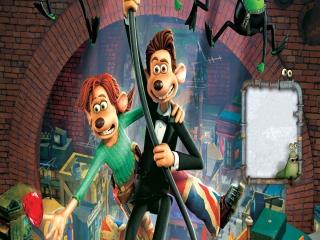 Speel als de helden uit de film en help hun op hun avontuur door het riool!