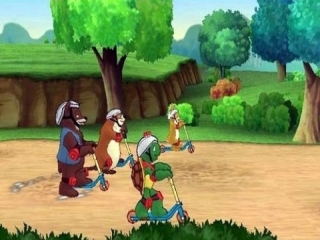 Naast de avontuurmodus zijn er ook een aantal mini-games, zoals een race op de step.
