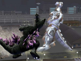 afbeeldingen voor Godzilla: Destroy All Monsters Melee