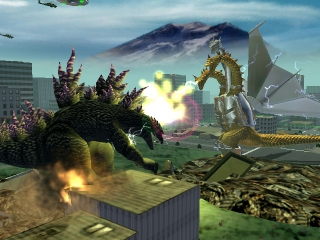 Godzilla Destroy All Monsters Melee plaatjes