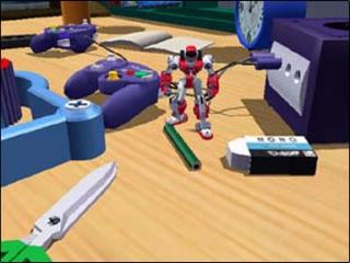 Blijkbaar houden ze bij Gotcha Force ook van de GameCube...