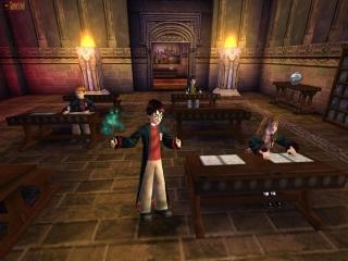 Speel als de bekende tovenaar <a href = https://www.mariocube.nl/Zoeken_GameCube.php?search=Harry%20Potter target = _blank>Harry Potter</a>!