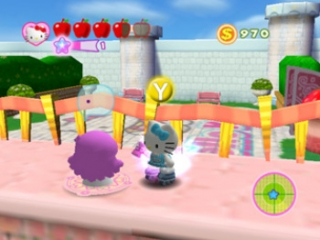 Hello Kitty Roller Rescue: Screenshot