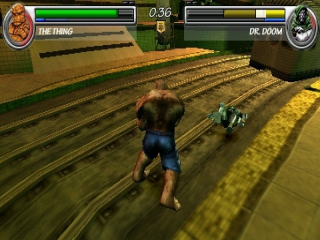 Marvel Nemesis Rise of the Imperfects: Screenshot