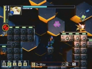Mega Man Network Transmission: Screenshot