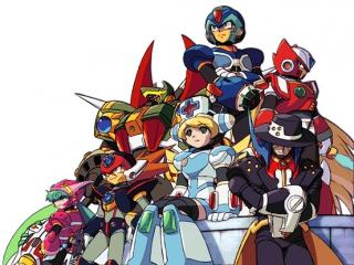 Mega Man X Command Mission: Afbeelding met speelbare characters