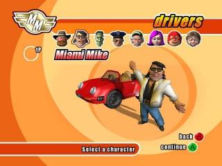 Micro Machines: Afbeelding met speelbare characters