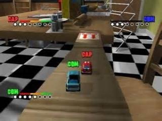 Micro Machines: Screenshot