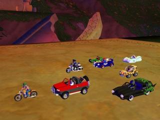 Keuze uit verschillende leuke micro voertuigen.
