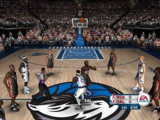 NBA Live 06: Screenshot