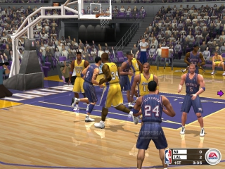 NBA Live 2003: Screenshot