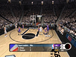 NBA Live 2005: Screenshot