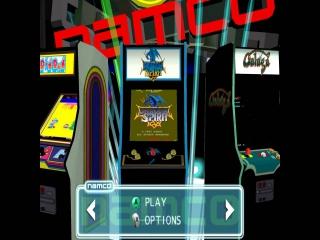 Speel op verschillende klassieke Namco arcades!