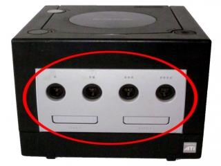 Door de vier controllerpoorten biedt de GameCube plezier voor 4 spelers!