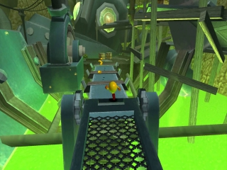 <a href = https://www.mario64.nl/Nintendo64_Namco_Museum_USA.htm target = _blank>Pac Man</a> moet goed uitkijken dat hij niet in het gif daar beneden valt.