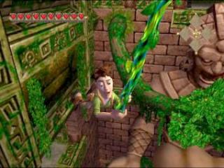 Die denk ook dat hij <a href = https://www.mario64.nl/Nintendo64_Disneys_Tarzan.htm target = _blank>Tarzan</a> is...