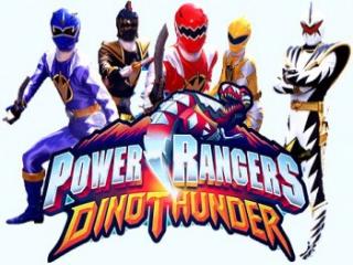 Speel als de Power Rangers uit het 12de seizoen genaamd Dino Thunder.